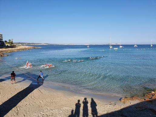 Imagen del litoral de Sant Antoni.