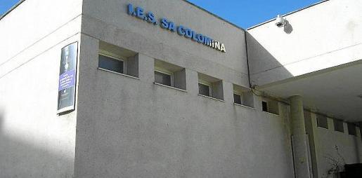 Imagen de archivo del instituto Sa Colomina, donde se celebrarán mañana los exámenes de catalán.