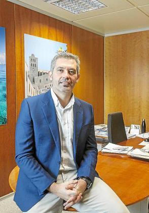 El director insular de Turismo, Juan Miguel Costa.