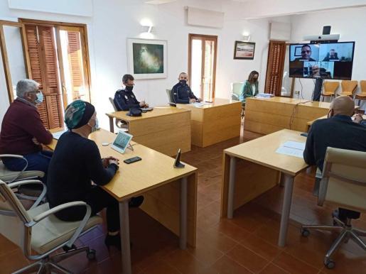 La reunión tuvo lugar ayer por la mañana en el Consell de Formentera.