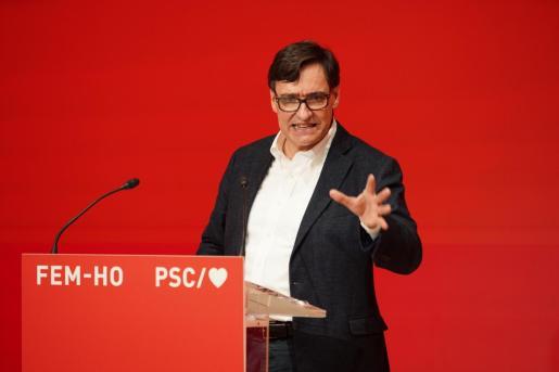 El candidato del PSC, Salvador Illa.