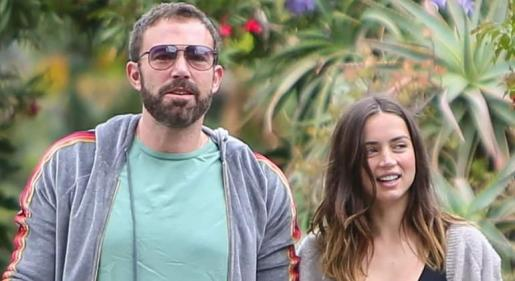 Los actores Ana de Armas y Ben Affleck terminan su relación.