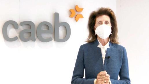 La presidenta de CAEB, Carmen Planas.