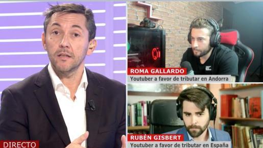 Ha querido responder al polémico debate sobre la marcha de 'influencers' a Andorra.