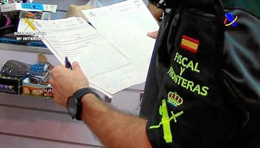 El paquete fue interceptado en el aeropuerto por agentes del puesto Fiscal.