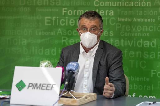Alfonso Rojo, en rueda de prensa.