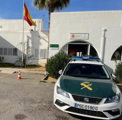 Puesto de la Guardia Civil en Sant Antoni.