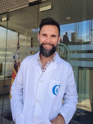Carlos Rodríguez, oncólogo de la Policlínica.