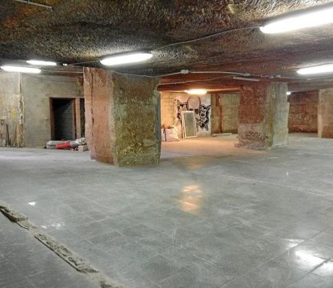 Esta es la cantera de Sa Raval Vella, el recinto donde estará el nuevo museo de Es Castell.