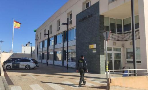 Destacamento de la Guardia Civil en Ibiza.
