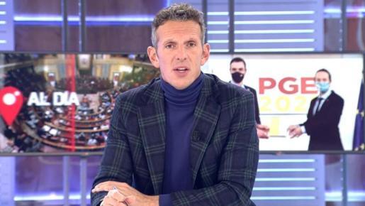 «Igual me cuesta el divorcio» ha asegurado el presentador de 'Cuatro al día'.