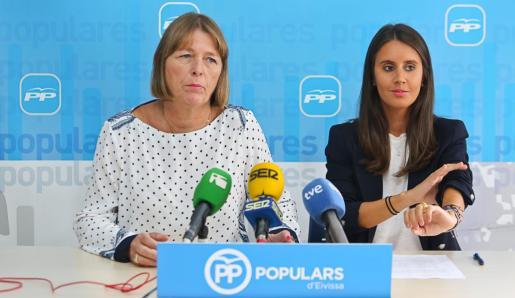 La consellera insular de Hacienda, María Fajarnés.