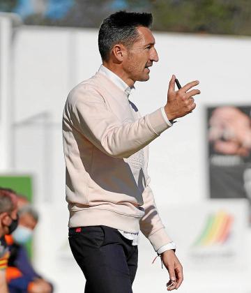 Raúl Casañ, durante el duelo anterior en casa contra el Valencia Mestalla.