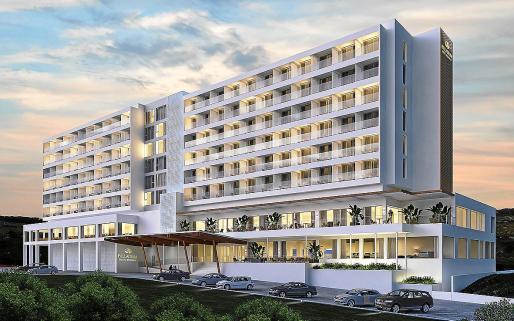 Imagen digital del remodelado Palladium Hotel Menorca.
