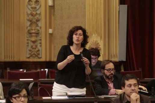 Silvia Tur, en el Parlament, en una imagen de archivo.