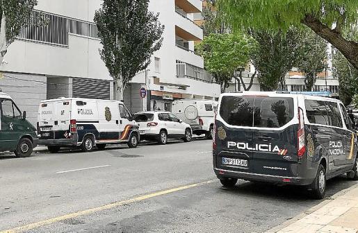 El hombre fue detenido por la Policía Nacional por un robo con fuerza.