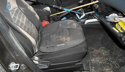 El joven fue detenido por su relación con una oleada de robos en coches.