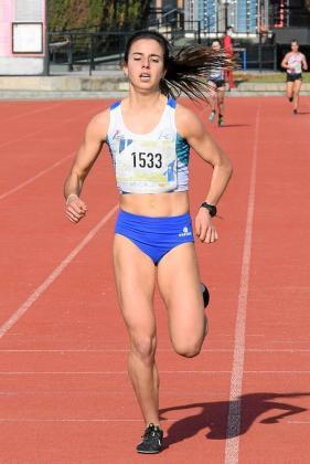 Andrea Romero, en el 3.000 que disputó en Mallorca a finales del mes pasado.
