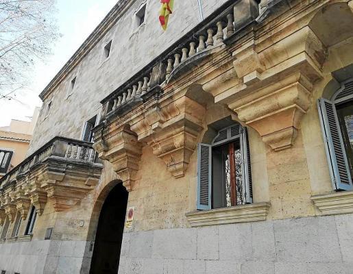 El juicio se celebró ayer en la Audiencia Provincial de Palma.