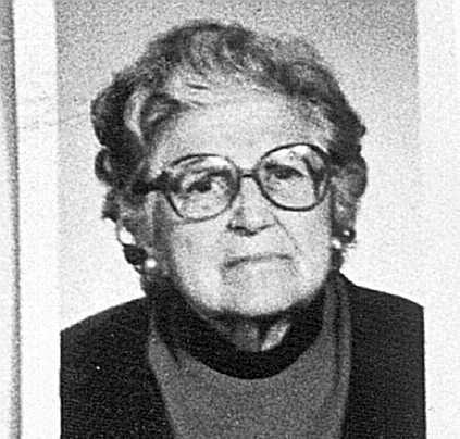 Telesfora Uriarte era viuda y vivía sola.