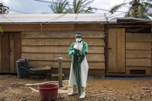 Guinea confirma una nueva epidemia de Ébola.