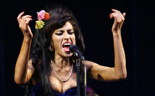 Foto de archivo de Amy Winehouse.