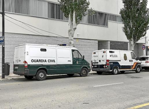 La acusada fue detenida por una patrulla de la Policía Nacional en un domicilio de Vila.