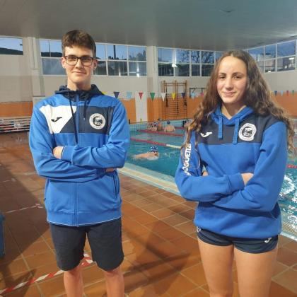Ángel Esteban y María Riera, del CN Eivissa.
