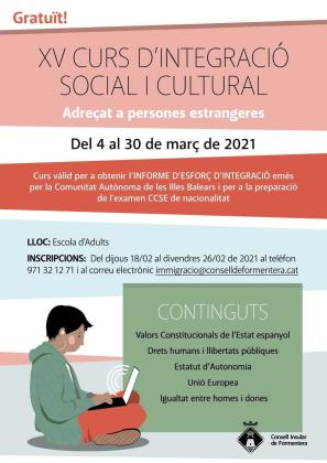 El Curso de Integración Social y Cultural de Formentera para extranjeros cumple 15 ediciones.