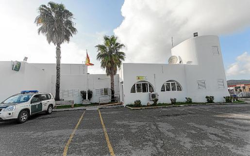 Los dos hermanos fueron interceptados en la carretera de Sant Antoni por agentes de la Guardia Civil.