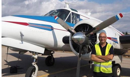Turmina SL lleva implantada en Son Bonet desde el año 2000, según señala Guillermo Company, y cuenta con un hangar de más de 400 metros cuadrados para realizar ahora labores de mantenimiento en aeronaves de hasta 5.700 kilos de peso.