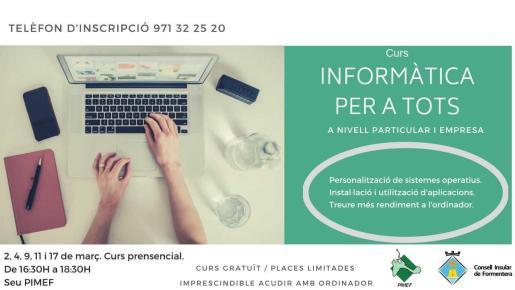 Pimef y Consell ofrecen siete cursos formativos gratuitos para empresas y trabajadores.