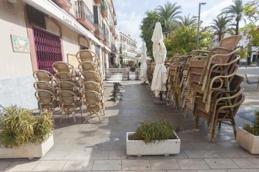 La hostelería de Ibiza ha tenido que cerrar sus puertas en varias ocasiones dirante la pandmeia.