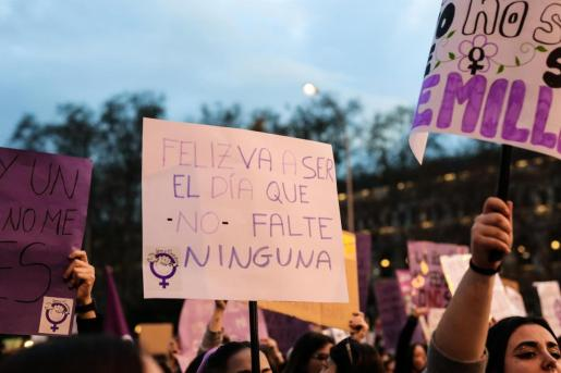 Archivo - Manifestación del 8M (Día Internacional de la Mujer) en Madrid a 8 de marzo de 2020 - Jesús Hellín - Europa Press - Archivo