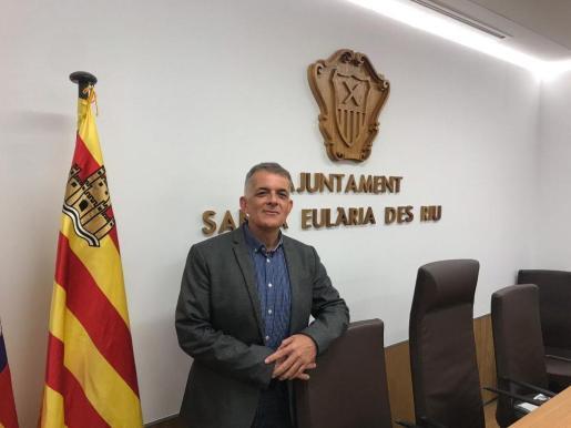 Vicent Torres 'Benet', portavoz del PSOE en el Ayuntamiento de Santa Eulària.