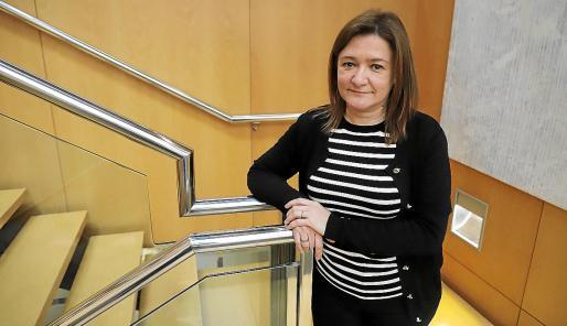 Mercedes Garrido, consellera de Presidència, Funció Pública i Igualtat.