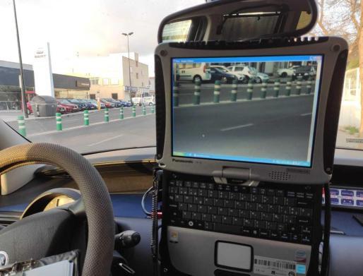 La Policía Local de Ibiza interpone 36 denuncias durante esta semana en un control de velocidad.