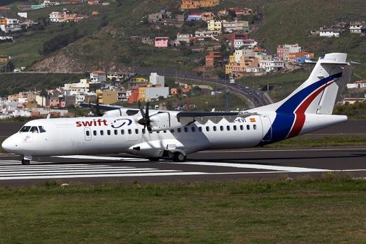 Un avión de Swiftair.