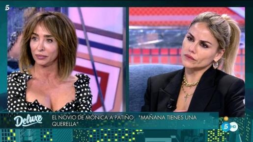 La ex de Carlos Lozano se enteró en directo de los problemas con la ley de su actual novio: «Estoy alucinando».