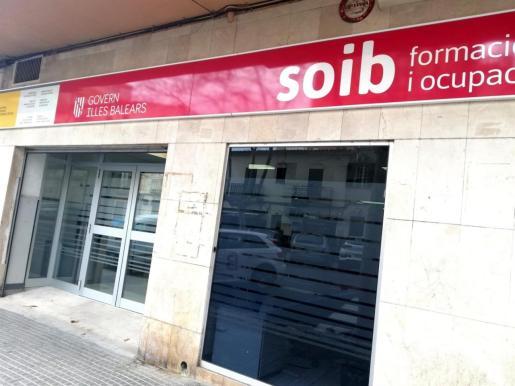 Oficina del SOIB en Palma.