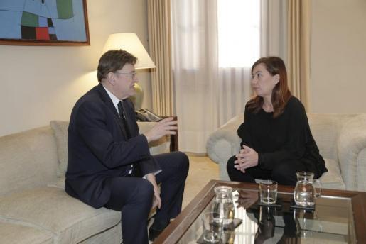 Ximo Puig y Francina Armengol, en una imagen de archivo.