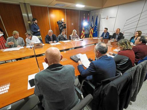 El Consejo Asesor de Derecho Civil de las Pitiusas (imagen de 2019) se pronunció en el mismo sentido que el órgano balear.