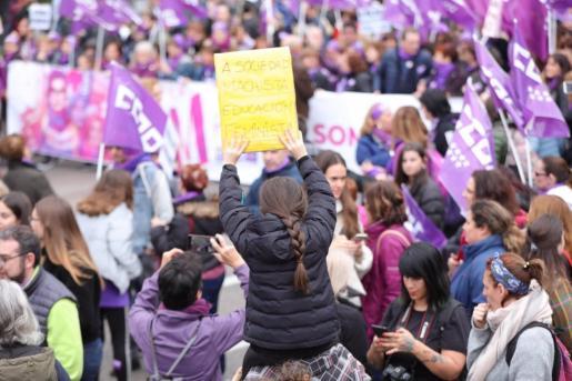 Manifestación del 8M en Madrid. Archivo - EUROPA PRESS