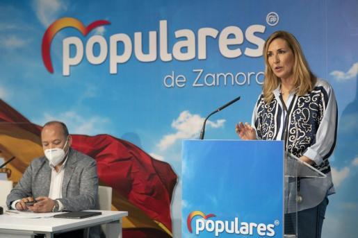 La vicesecretaria de Organización del PP, Ana Beltrán, en una imagen de archivo.