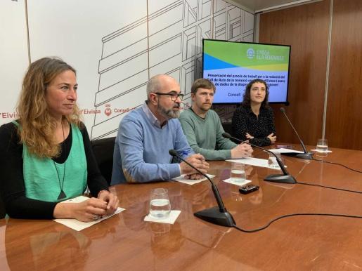 Imagen de archivo de la presentación de los trabajos de la hoja de ruta de la transición energética de Ibiza.