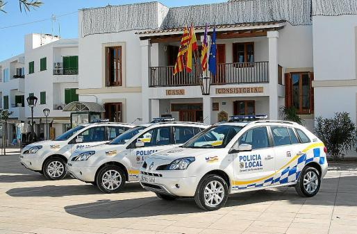 Cuartel de la Policía Local de Formentera.
