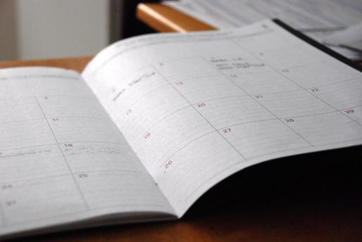 Calendario de festivos para 2022.