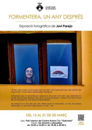 'Formentera, un any després', la exposición fotográfica de Javier Parejo que da las gracias a los vecinos y vecinas de la isla.