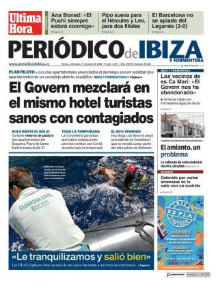 Visitas con cambios. En el mes de julio, una visita de Armengol a Ibiza conllevó también una rectificación del Govern. Por aquel entonces fue la noticia de que se mezclarían turistas sanos y contagiados en el mismo complejo.