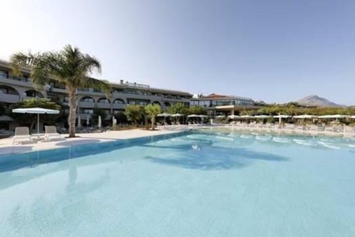 Hotel de Palladium en Sicilia.